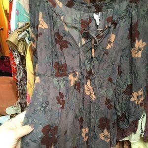 Joie Floaty Dress M Babydoll 100% Silk